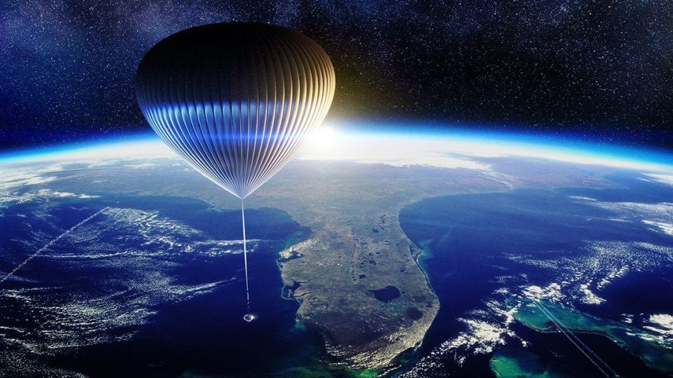 This Startup Wants to Fly Humans to Space In a 'Hot Air Balloon' For Weddings