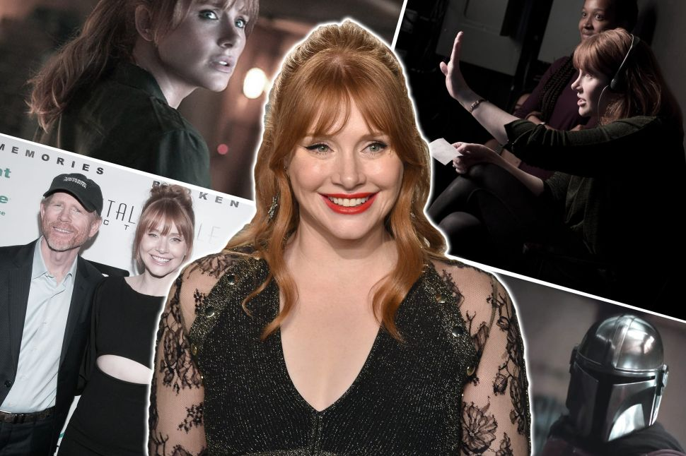 Bryce Dallas Howard Just Wants to Direct (and Act and Write and Teach)