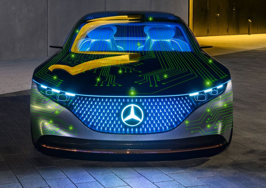 Mercedes-Benz Announces Bombshell Supercomputer Car, Taking Aim At Tesla