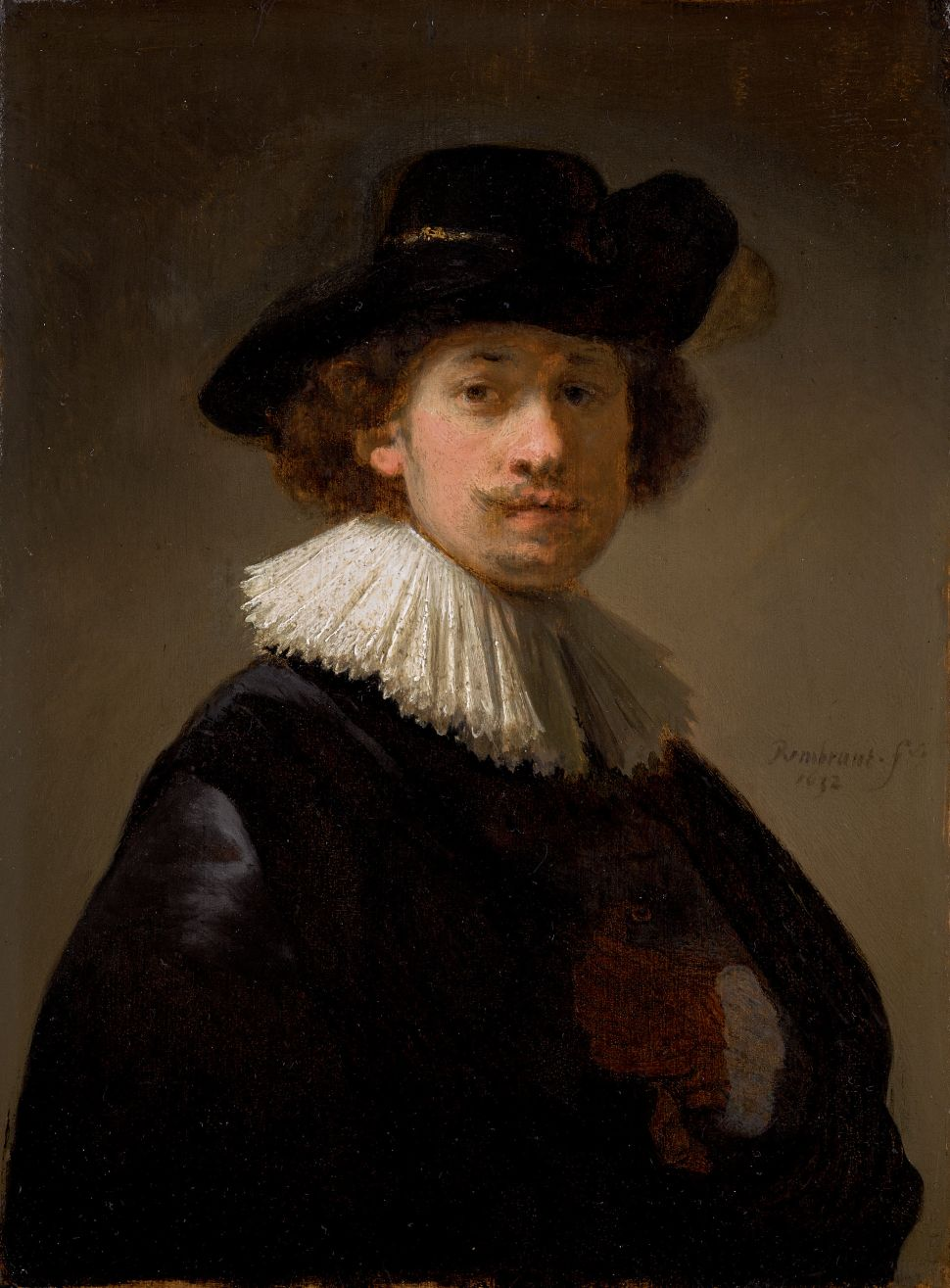 Rembrandt May Have Painted This Self-Portrait as a Gift For His Wife