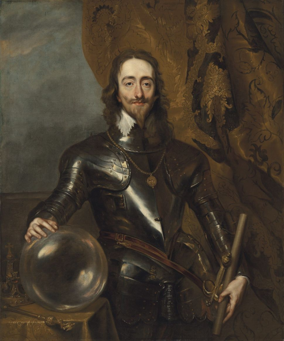 How a Follower of Anthony van Dyck Came to Create a Compelling Portrait of Charles I