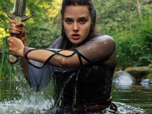 Katherine Langford as Nimue in Cursed