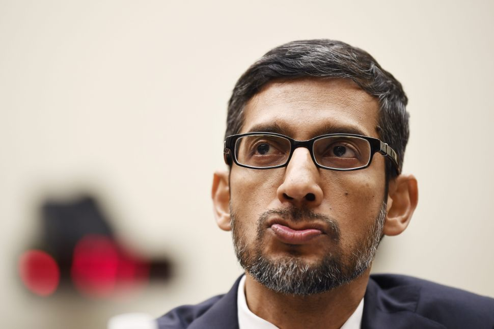 Google CEO Sundar Pichai Struggles to Defend Monopoly in Big Tech Hearing