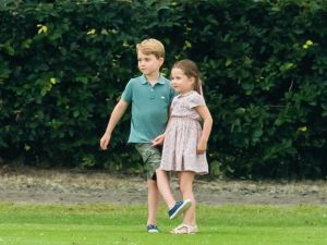 prince george and princess charlotte summer break