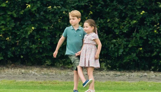 prince george and princess charlotte summer break