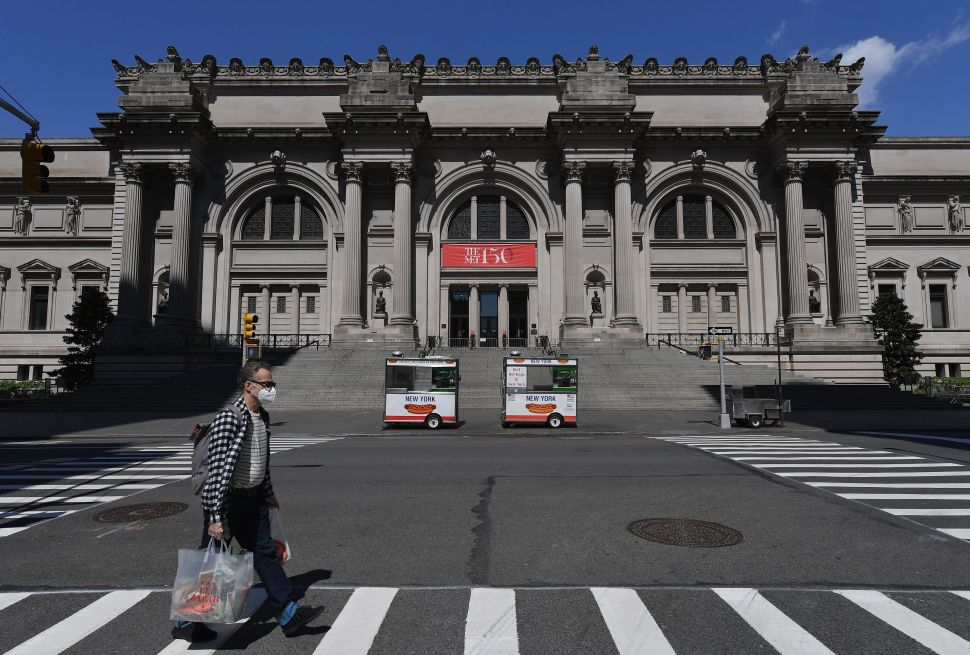 The Met Museum Will Reopen in August at a Quarter of Its Regular Capacity