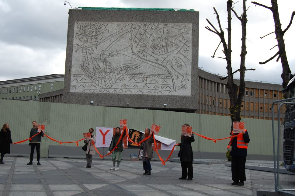 Oslo's Picasso Murals Are Being Relocated Despite Protest