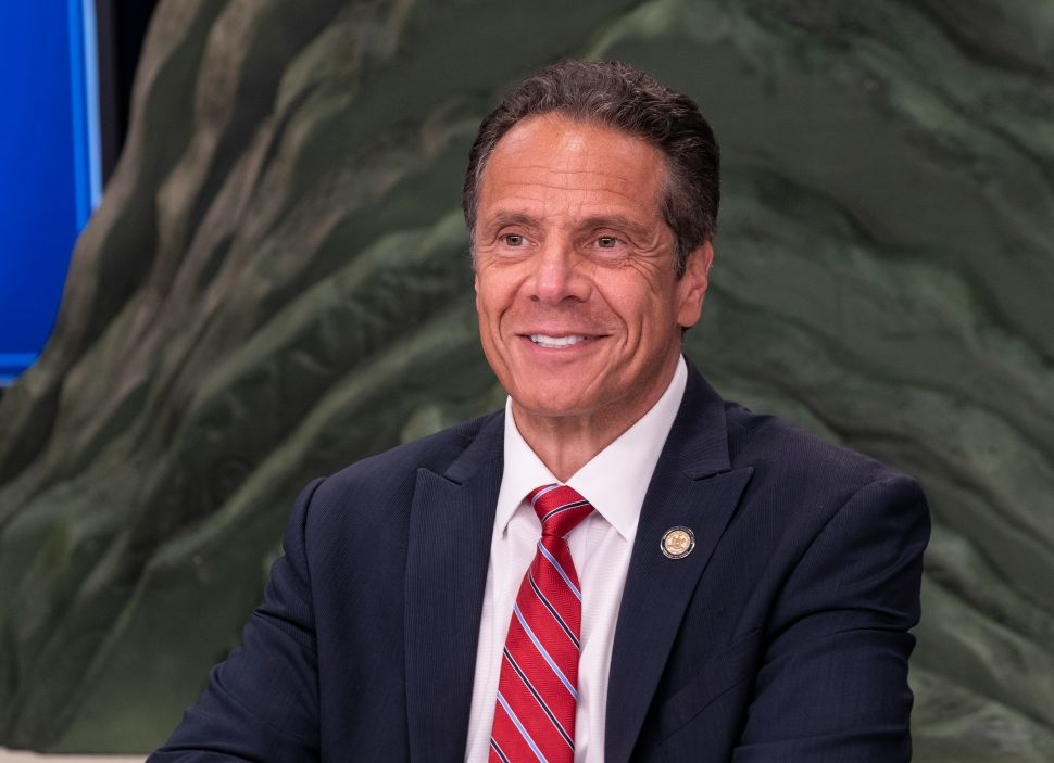 Andrew Cuomo's New Pandemic-Themed Mountain Poster Illustrates '111 Days of Hell'