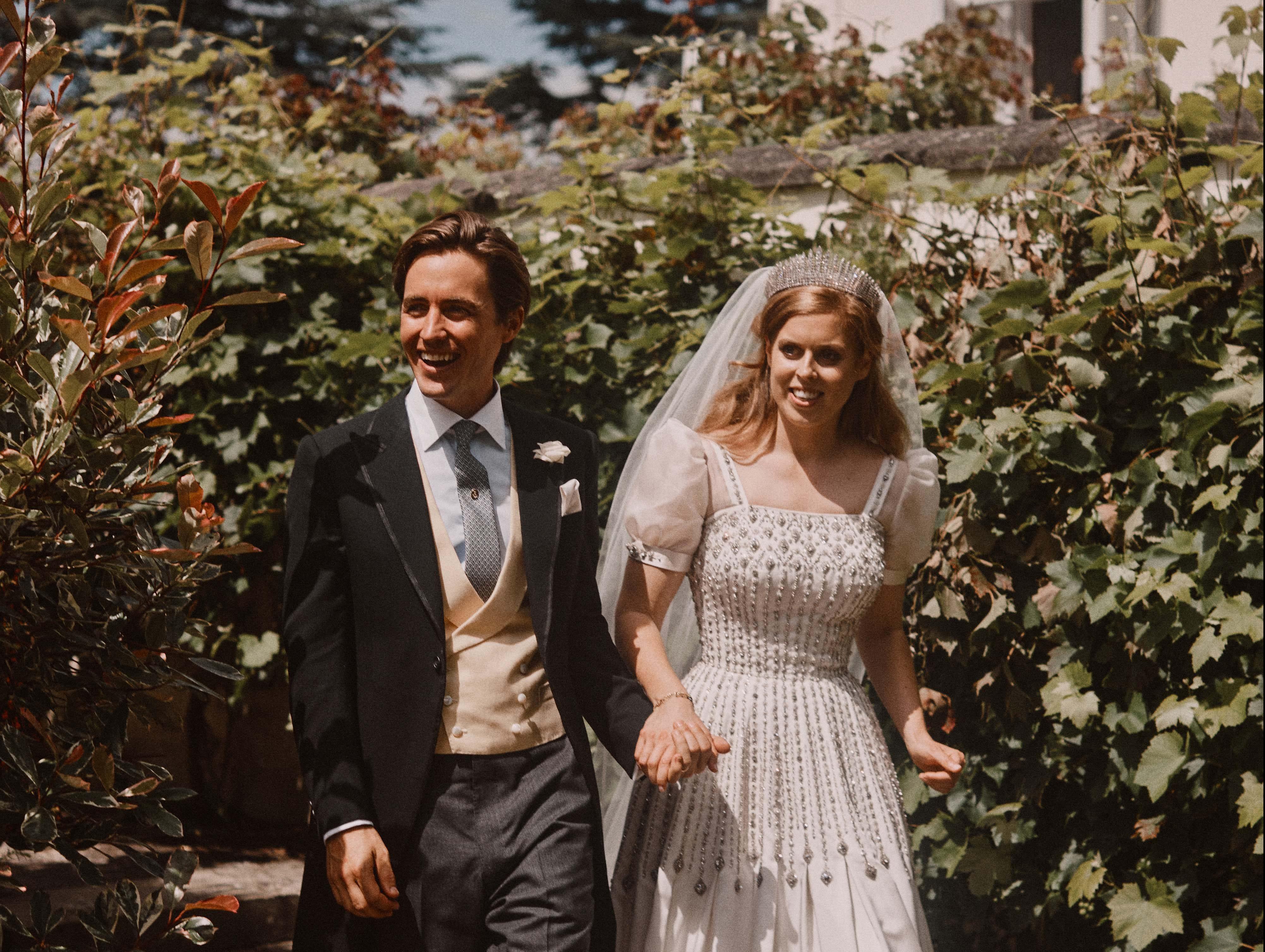 Princess Beatrice and Edoardo Mapelli Mozzi Are on a Low-Key Honeymoon in France