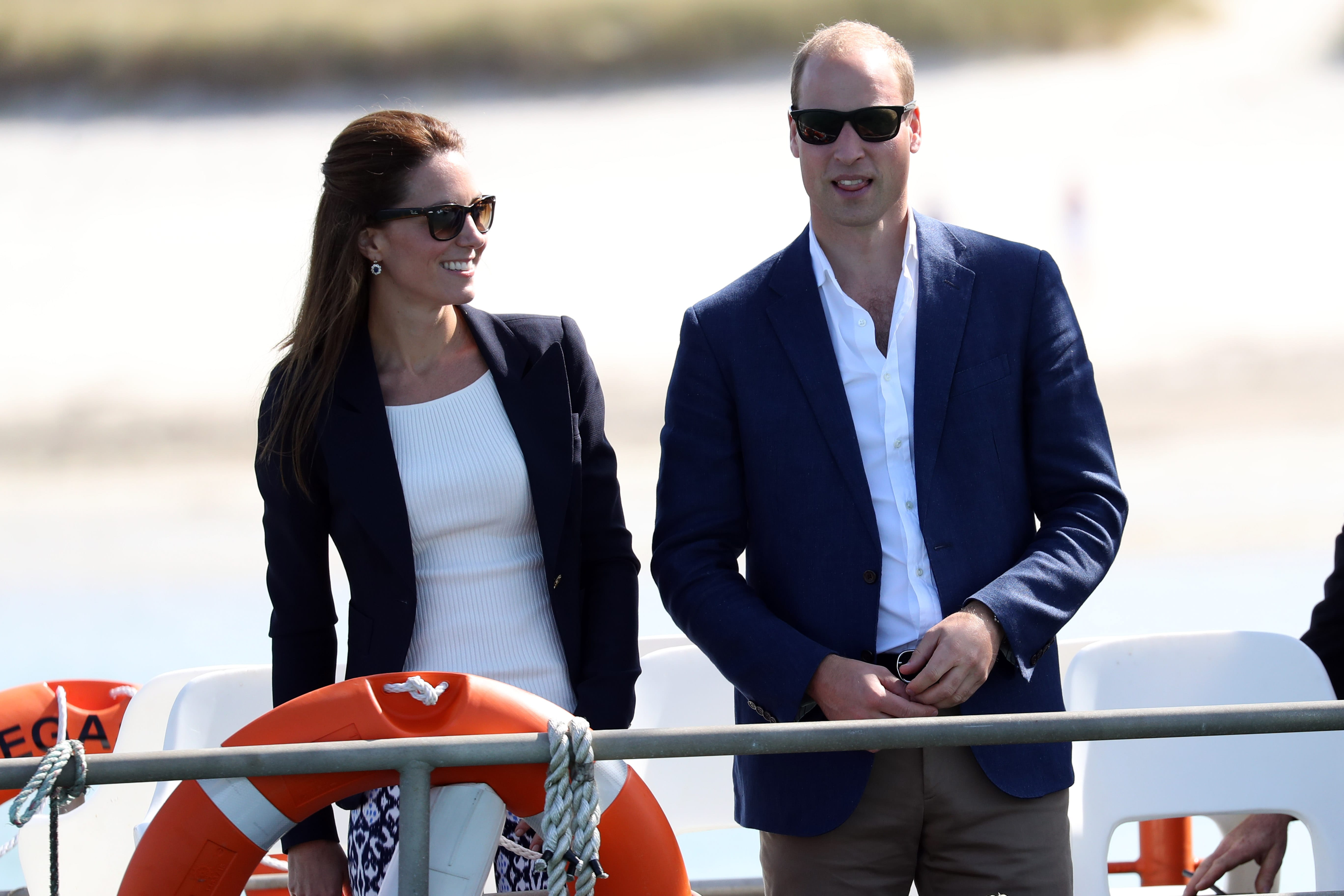 Prince William and Kate Took Their Kids on a Special Family Vacation to Tresco