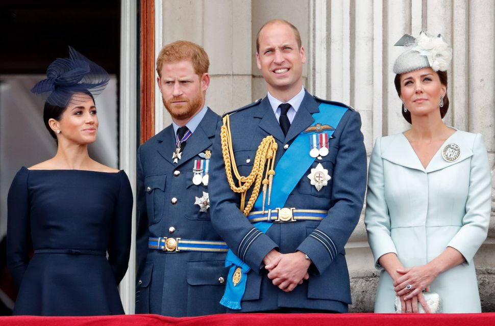 Prince Harry and Meghan Are Back in Touch With Prince William and Kate