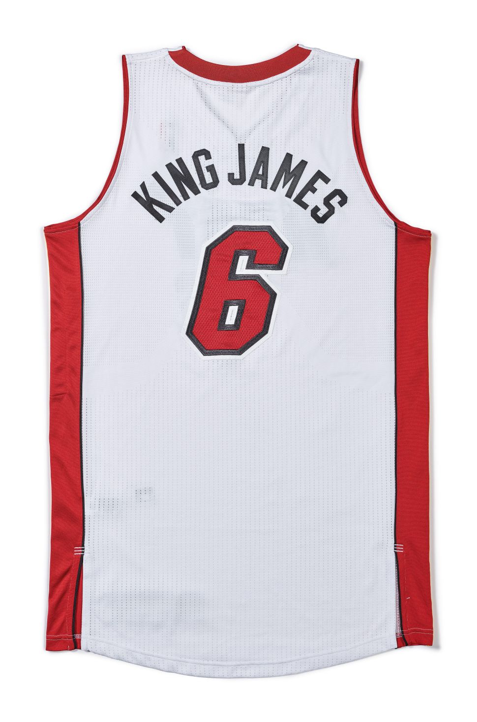 LeBron's Famous 'King James' Jersey Set to Sell at Sotheby's for $200,000