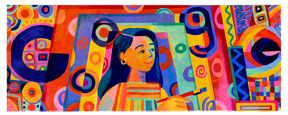 Pacita Abad, a Painter of Women Around the World, Celebrated With a Google Doodle