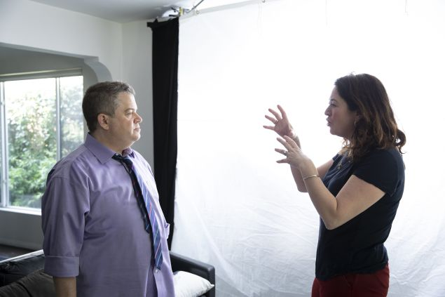 patton oswalt and liz garbus in ill be gone in the dark