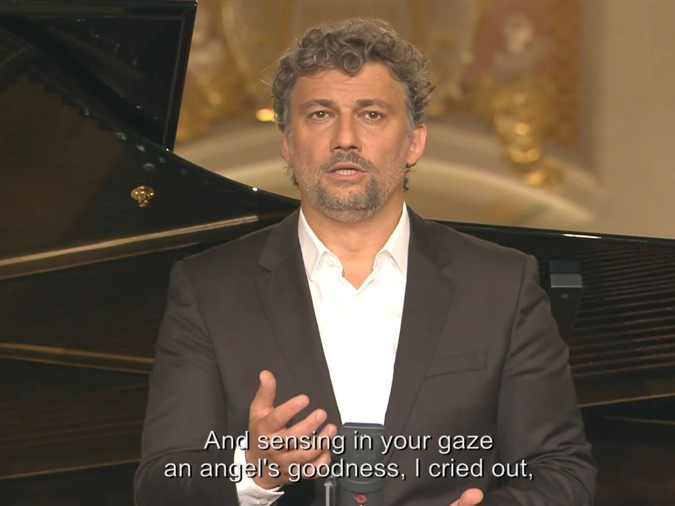 Jonas Kaufmann Sings in a Bavarian Abbey for the Met's First Solo Streaming Recital