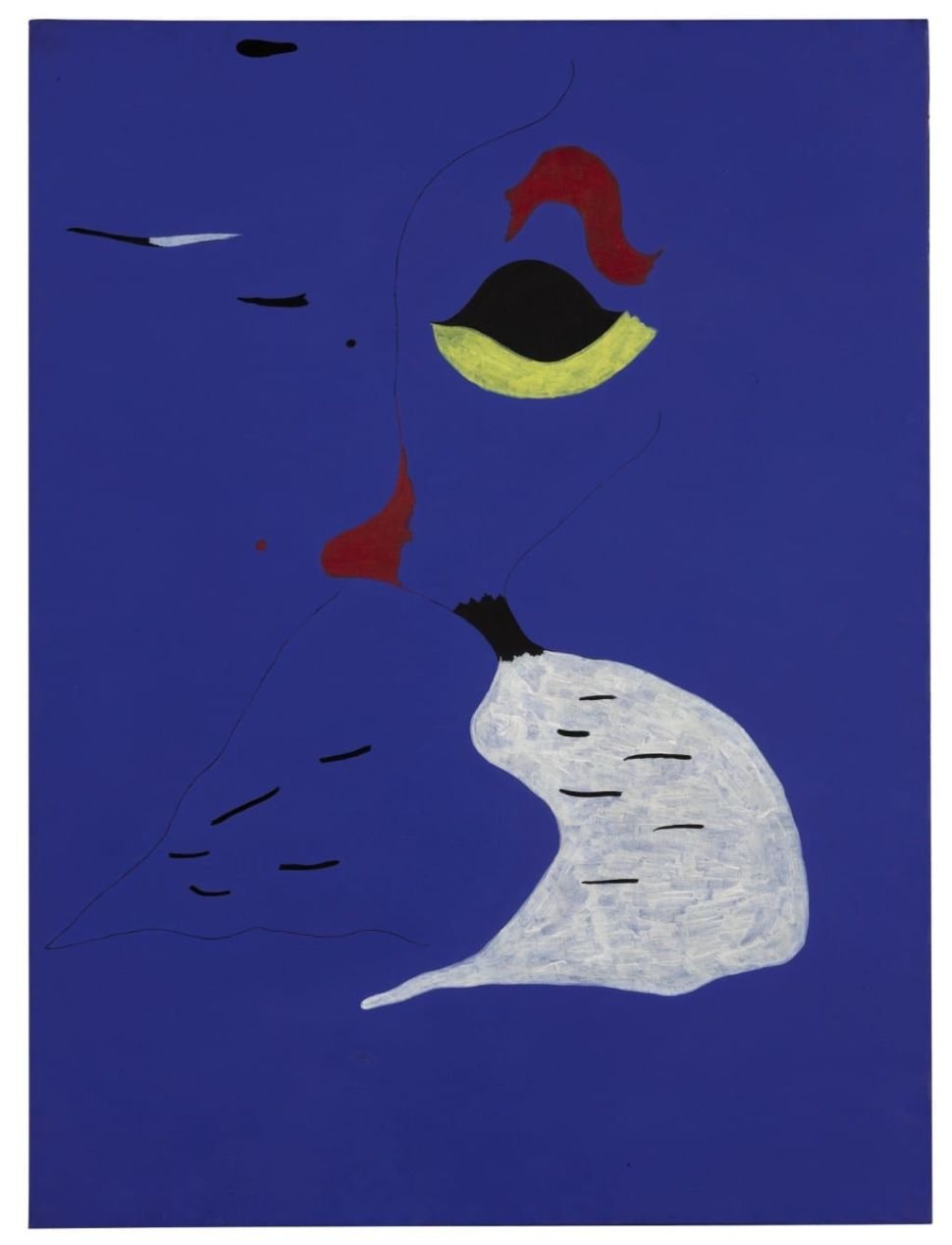 Miró's Abstract 'Woman With Red Hat' Expected to Sell for $37 Million at Sotheby's