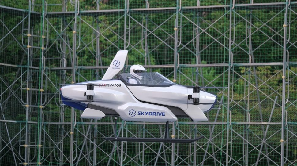 Japanese Flying Car Startup Aces Driver Test, Taking Off With Pilot Inside