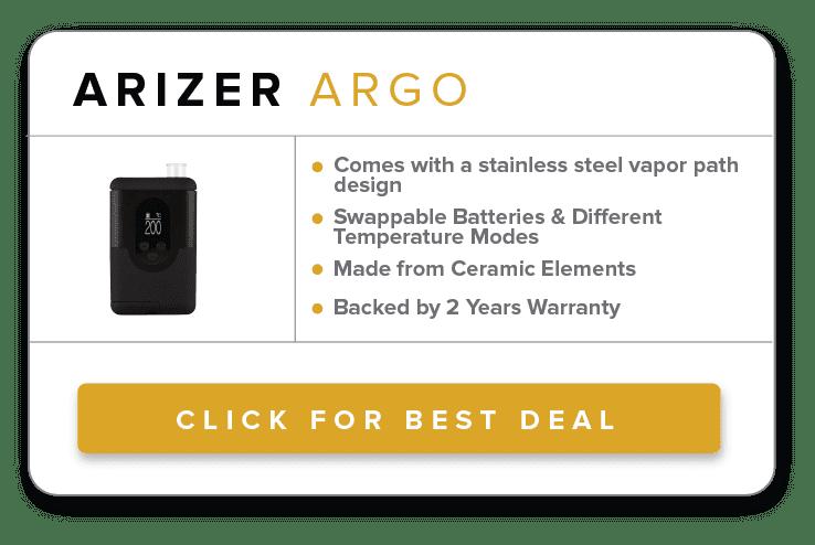 4 - Arizer Argo Dry Herb Vaporizer