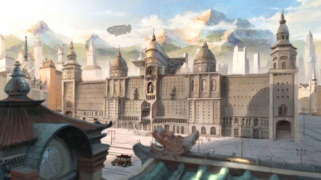 Republic City legend of korra