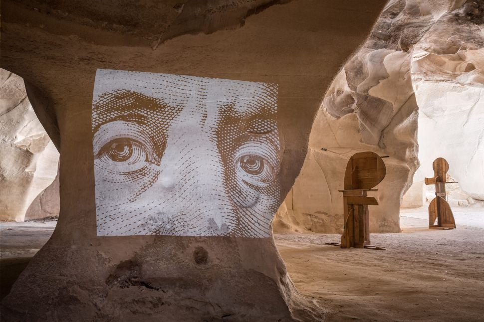 An Ancient Cave System Has Been Transformed by Art