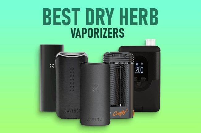 Best Portable Dry Herb Vaporizer - Featured Image