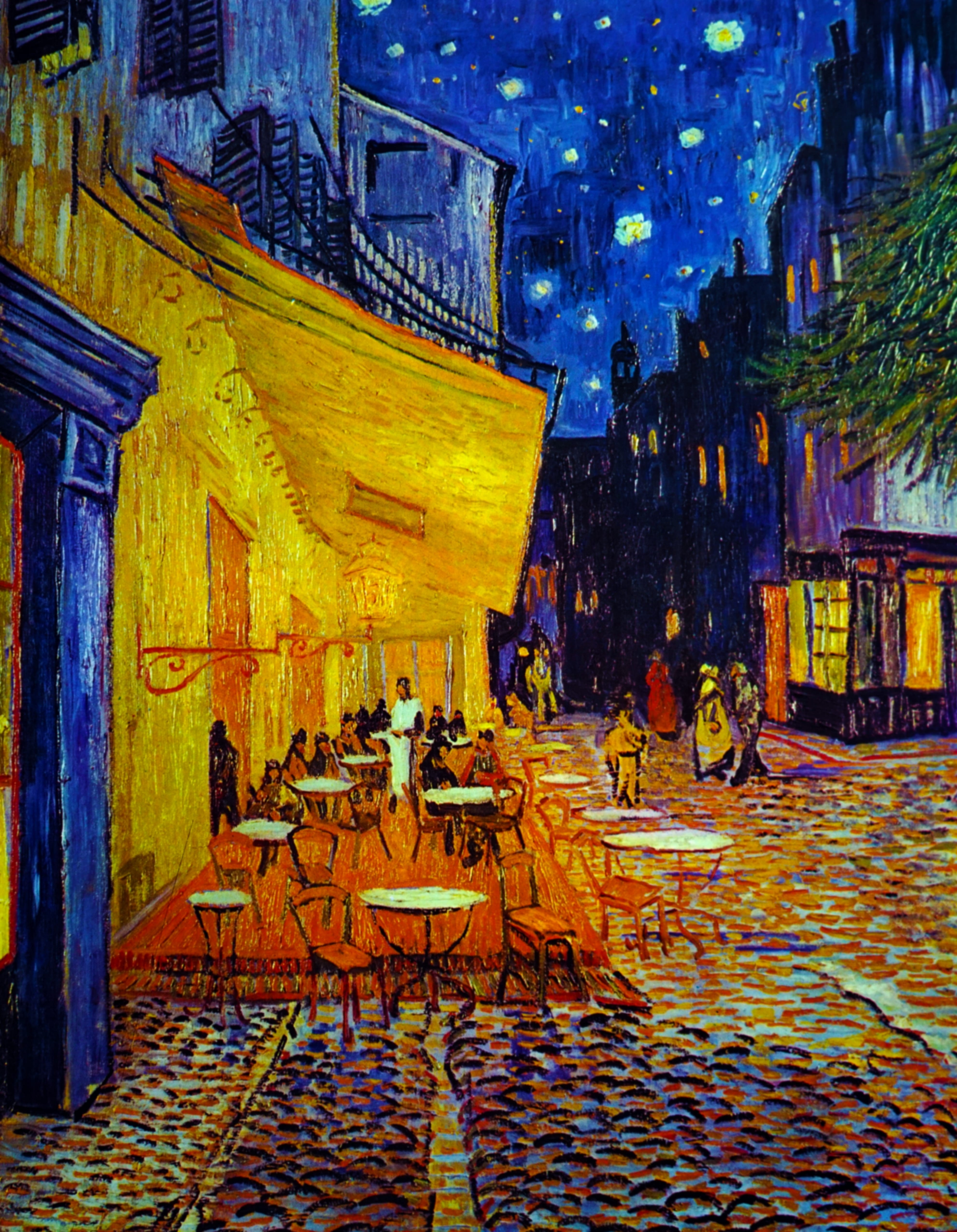 Van Gogh's 'Cafe Terrace at Night' Is at the Center of a Heated Twitter Debate