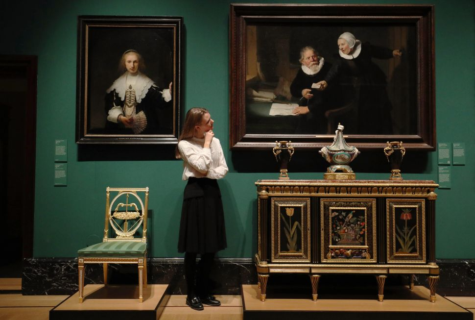 Buckingham Palace Will Debut Rarely Seen Work from Rembrandt and Van Dyck This Winter