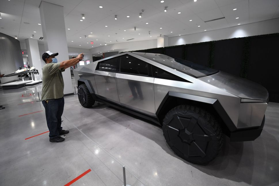 Elon Musk Is Rethinking Tesla Cybertruck as Electric Pickup Race Accelerates