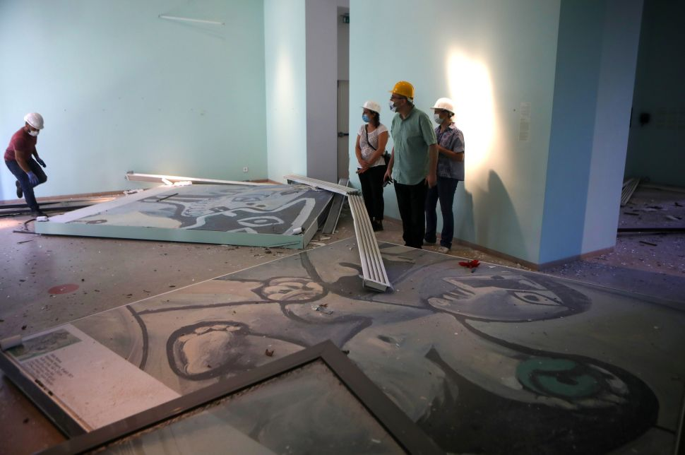 Beirut's Damaged Museums Will Get 'First Aid' From International Arts Organizations