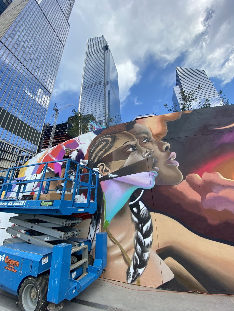 Hudson Yards Will Host Outdoor Murals by Key Detail and Street Artist Elle