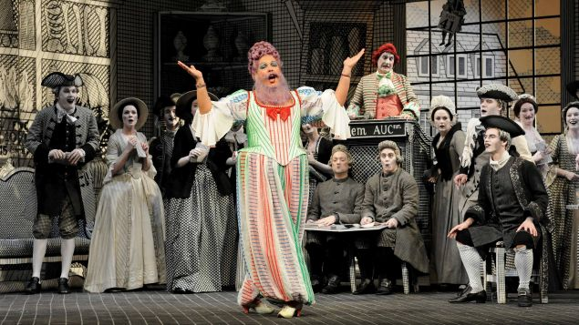 A scene from Rake's Progress at the Glyndebourne festival