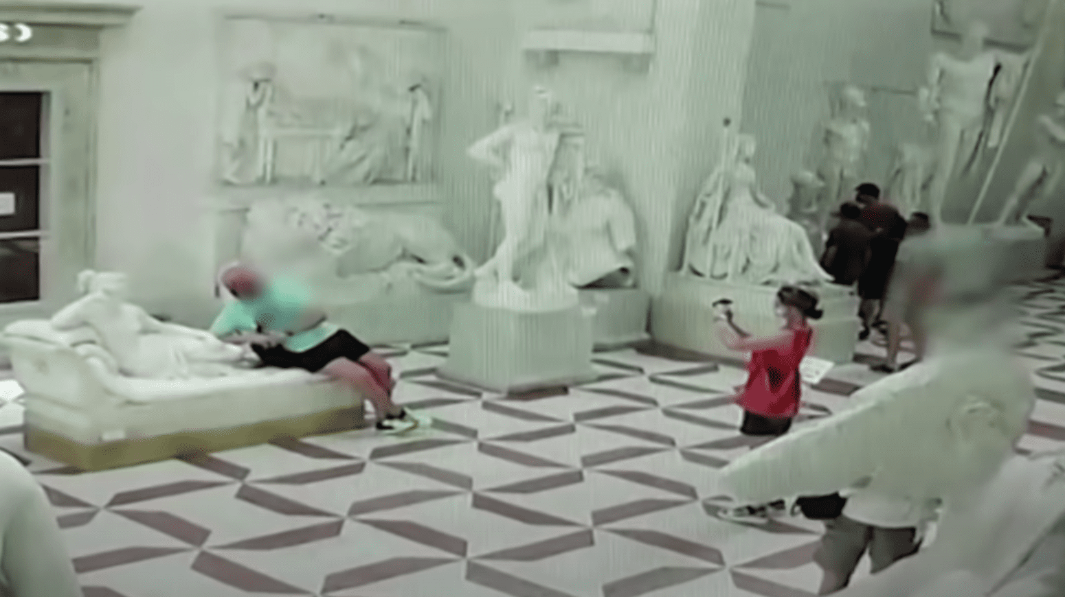 Should an Austrian Tourist Face Charges for Breaking This 200-Year-Old Sculpture?