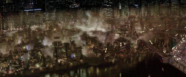 the narrows of gotham city batman begins