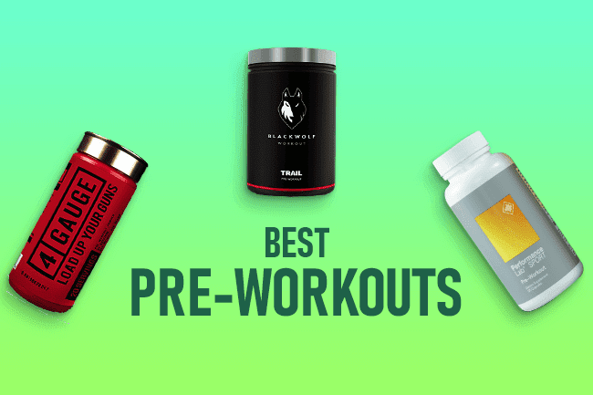Best Pre-Workout Supplements [Updated 2020]