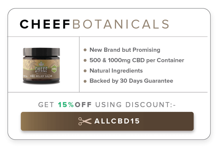 cheef botanicals best cbd salve
