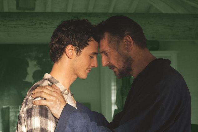 Micheál Richardson and his father, Liam Neeson, star in the new film Made in Italy, directed by James D'Arcy