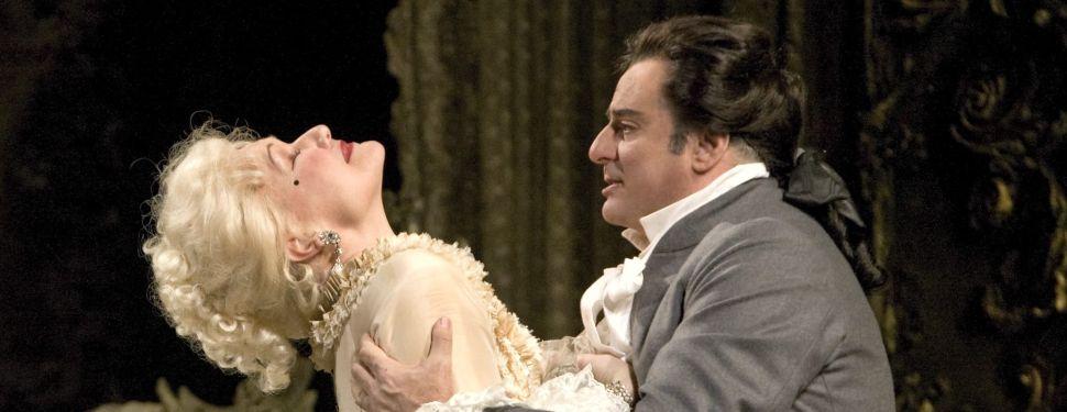 Karita Mattila and Marcello Giordani star in the Met's 'Manon Lescaut'.