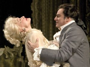 Karita Mattila and Marcello Giordani star in the Met's 'Manon Lescaut'.
