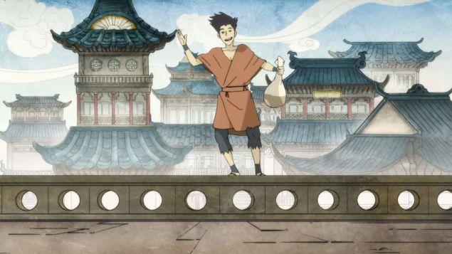 Avatar Wan, as seen in The Legend of Korra
