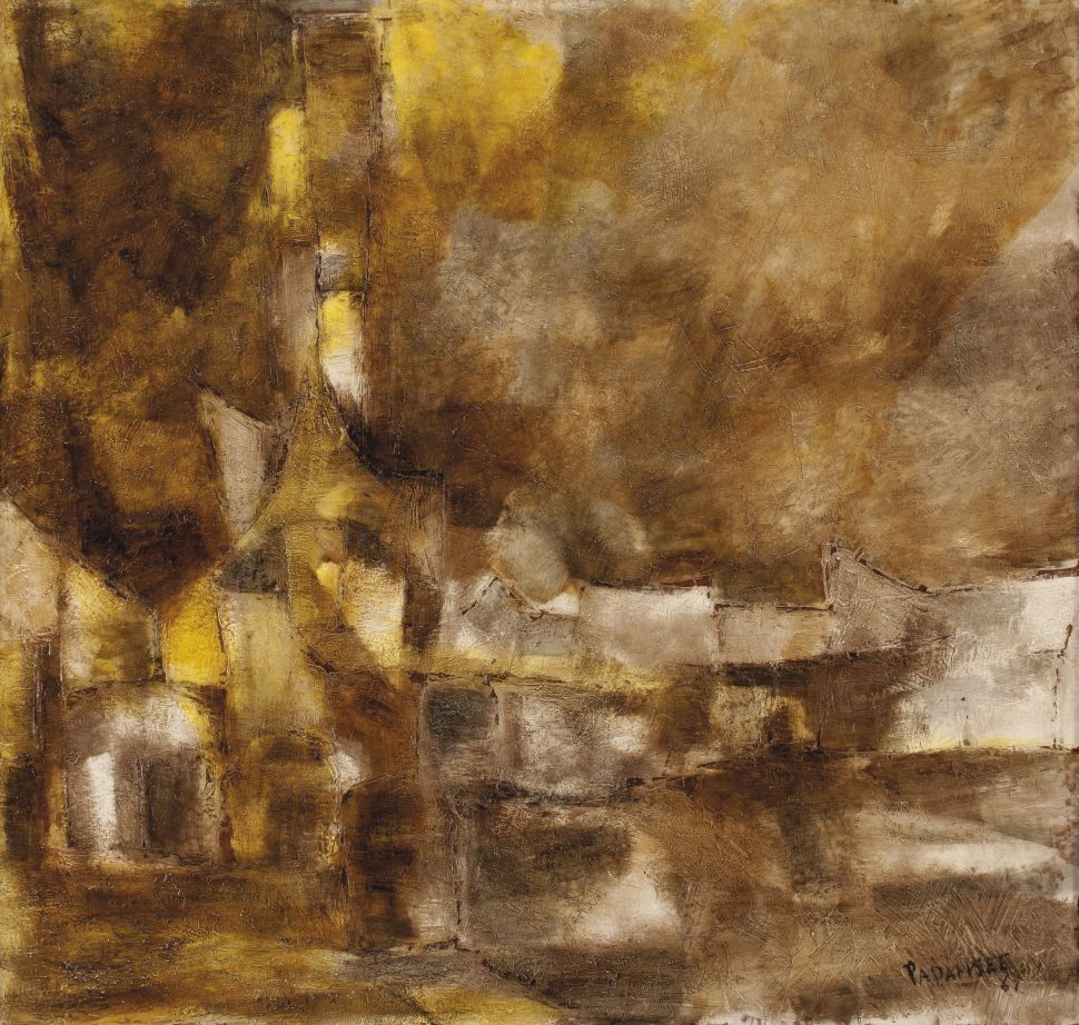 Akbar Padamsee's Moody 'Paysage' Leads This Upcoming Christie's Auction