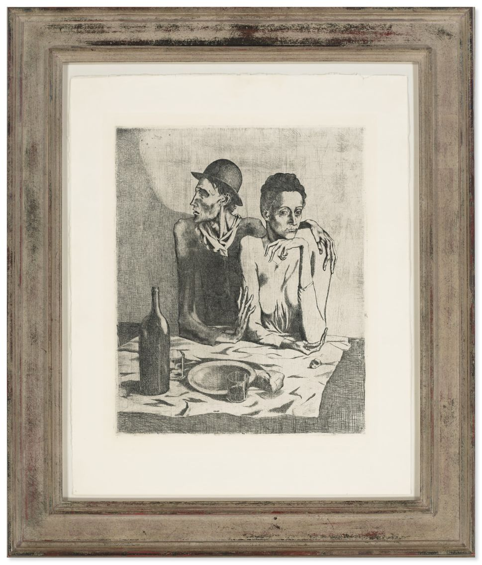 Picasso's 'Le Repas Frugal' Is the Bleak Star of This Christie's Sale