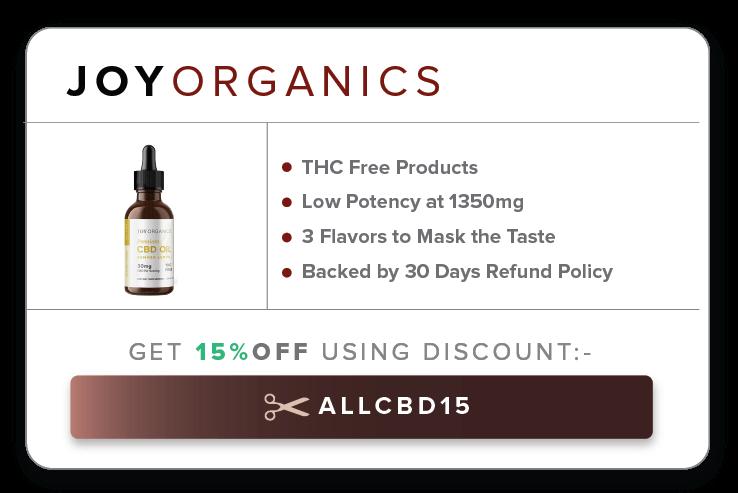 5 Joy organics