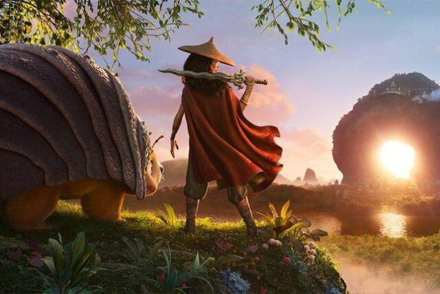 Disney+ Premier Access Raya and the Last Dragon Mulan