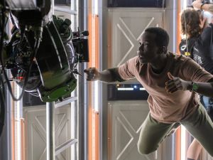 Ato Essandoh plays Kwesi, a botanist and astronaut in Away