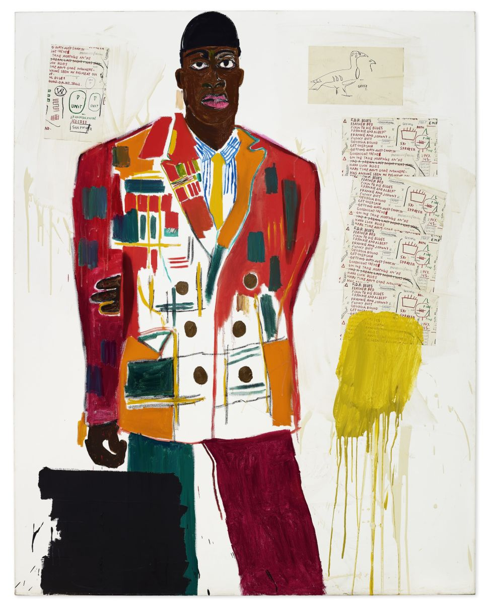 Basquiat's Intimate Portrait of a Friend Expected to Sell for $6 Million at Christie's