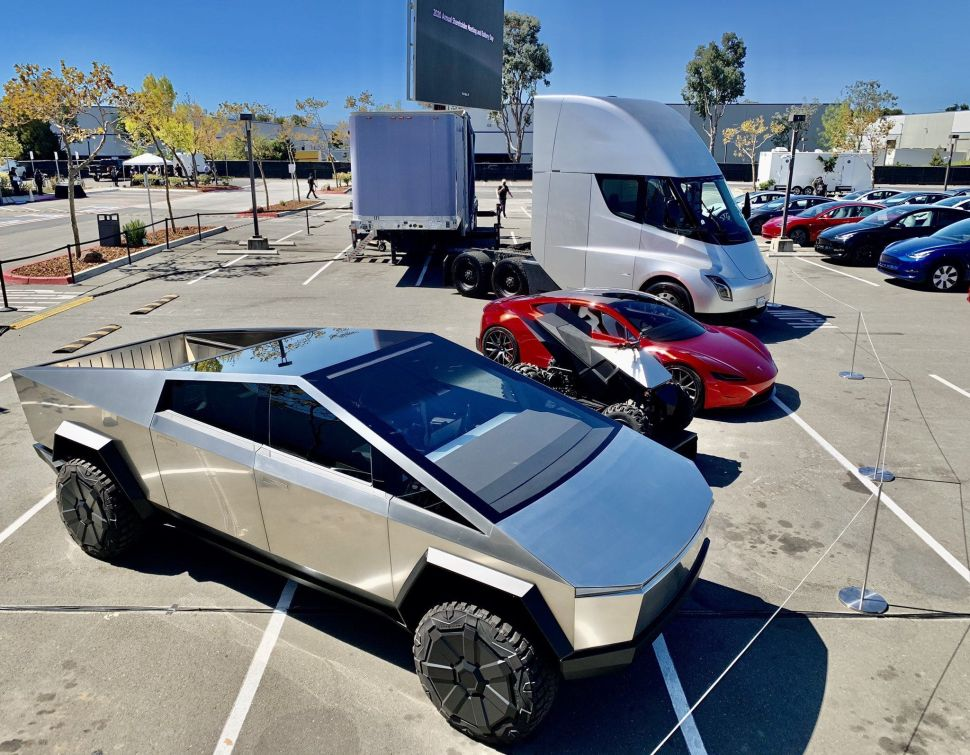 Tesla's Cybertruck Gets Huge Preorder—But One Big Detail Remains Unclear