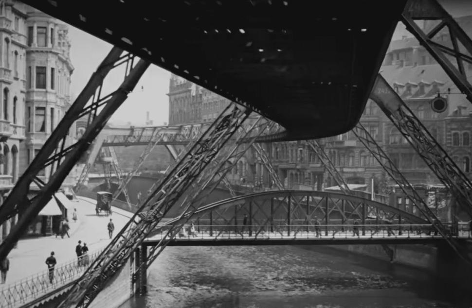 MoMA's Astonishing 1902 'Flying' German Railway Footage Is Going Viral on Twitter