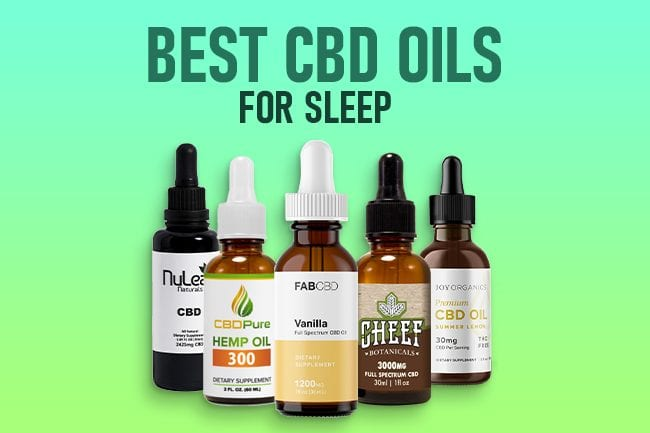 Best CBD Oil for Sleep & Insomnia [2020 Update]