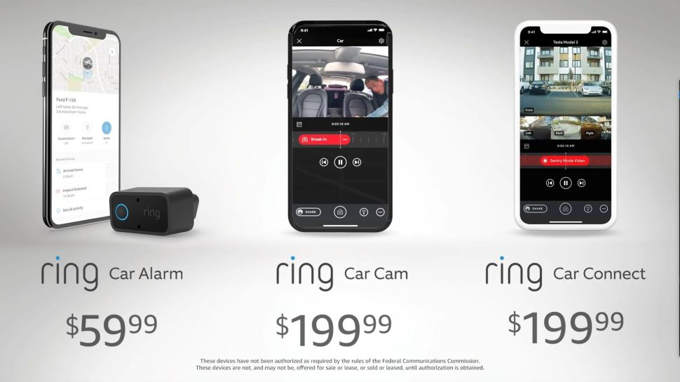 Amazon Unveils Ring Car Security System—Tesla Will Get Them First