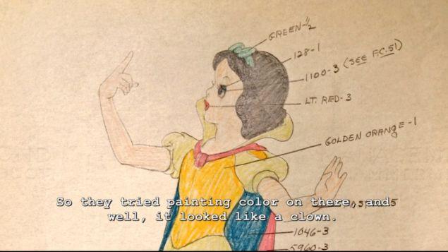 Snow White behind the scenes hyperion studios tour